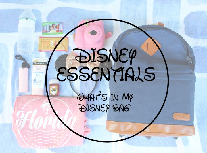 Disney Essentials: What's In My Bag