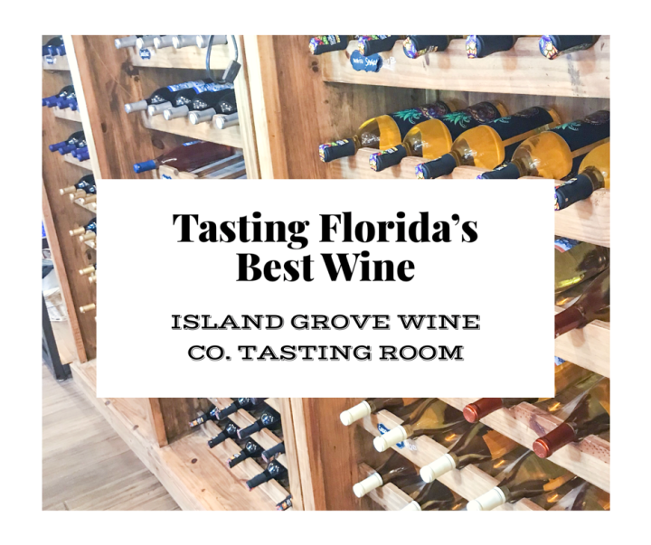 Tasting the Best Wine in Florida