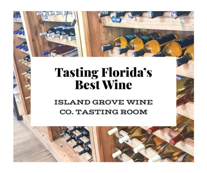 Tasting the Best Wine inFlorida