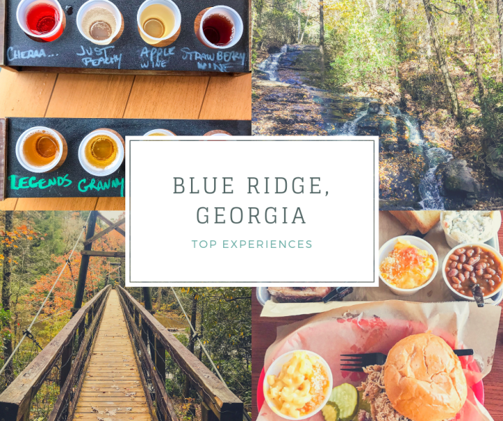 My First Real Fall: Exploring Blue Ridge, Georgia