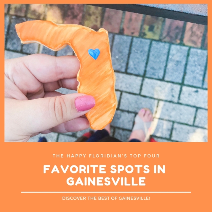 Four Favorite Spots In Gainesville