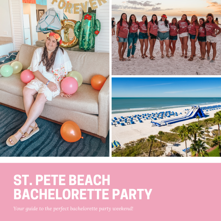 St. Pete Beach Bachelorette Party